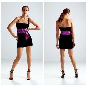 ZARA Limited Edition Belted Mini Dress size L